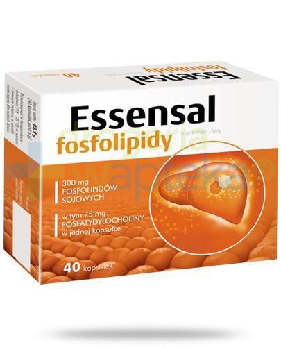 Essensal Fosfolipidy 40 kapsułek