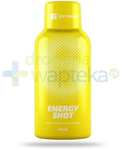 6Power Energy Shot, smak cytrynowy, płyn 50 ml