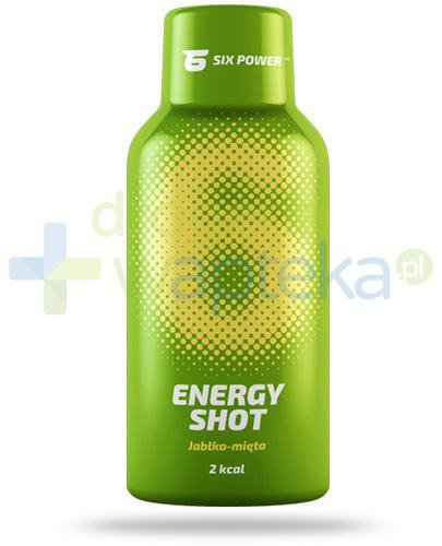 6Power Energy Shot, smak jabłko-mięta, płyn 50 ml
