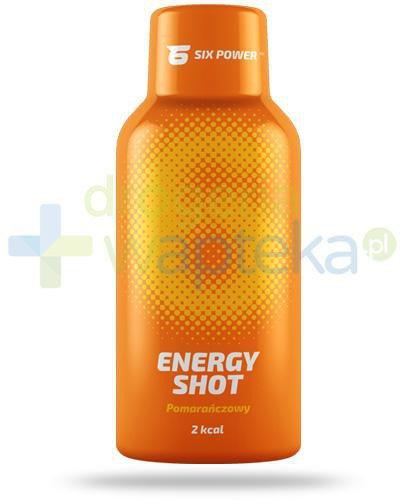 6Power Energy Shot, smak pomarańczowy, płyn 50 ml