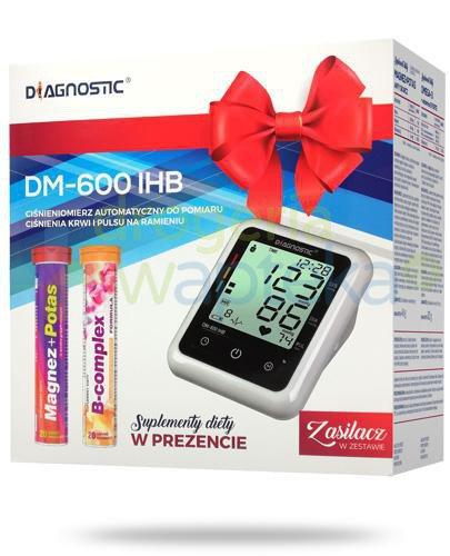 Diagnostic DM-600 IHB ciśnieniomierz automatyczny naramienny z zasilaczem 1 sztuka + supl...