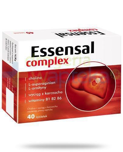 Essensal Complex 40 kapsułek