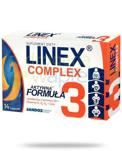 Linex Complex 14 kapsułek [Data ważności 31-08-2020]
