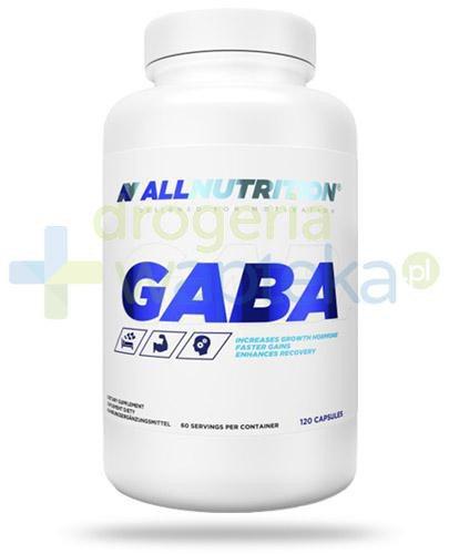 Allnutrition Gaba kwas gamma-aminomasłowy 120 kapsułek