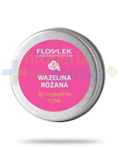 Flos-Lek Lip Care wazelina kosmetyczna do ust różana 15 g