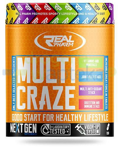 Real Pharm Multi Craze 270 tabletek
