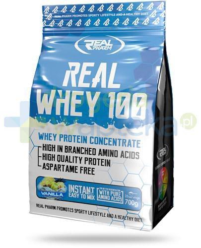 Real Pharm Real Whey 100 Vanilla, proszek 700 g