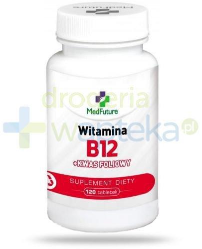 MedFuture witamina B12 + kwas foliowy 120 tabletek