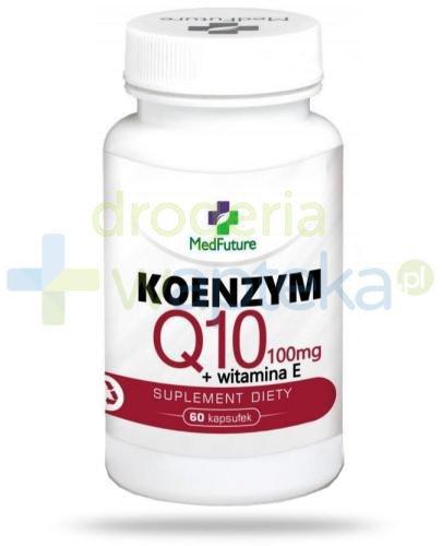 Medfuture Koenzym Q10 + witamina E 60 kapsułek