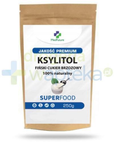 MedFuture Ksylitol fiński cukier brzozowy 100% naturalny 250 g