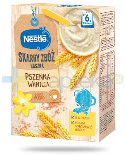 Kaszka pszenna Nestlé Skarby Zbóż wanilia po 6 miesiącu 250 g
