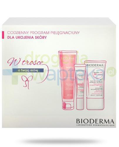 Bioderma Sensibio Codzienny program pielęgnacyjny dla ukojenia skóry [ZESTAW]