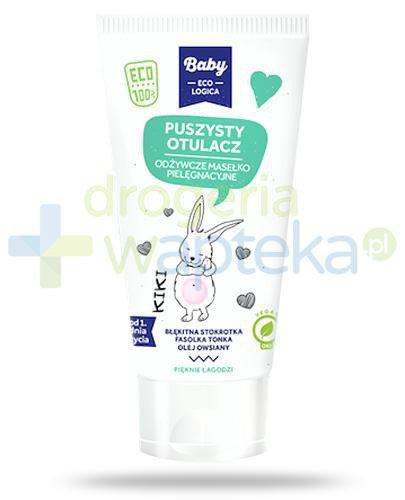 Baby EcoLogica Puszysty otulacz Kiki, odżywcze masełko pielęgnacyjne 150 ml
