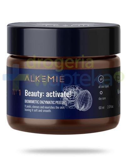 Alkemie No.1 Anti-Age Beauty: activate! biomimetyczny peeling enzymatyczny 60 ml [DARMOWA ...