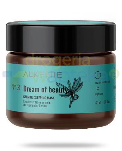 Alkemie No.3 Microbiome, Dream of beauty wyciszająca nocna maska-krem 60 ml [DARMOWA DOST...