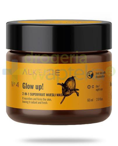 Alkemie No.4 Nature's Treasure, Glow up! 2w1 peeling-maska z superowocami 60 ml [DARMOWA D...