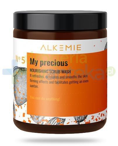 Alkemie No.5 Sun for everyone, My precious odżywczy peeling myjący do ciała 200 g [DARM...