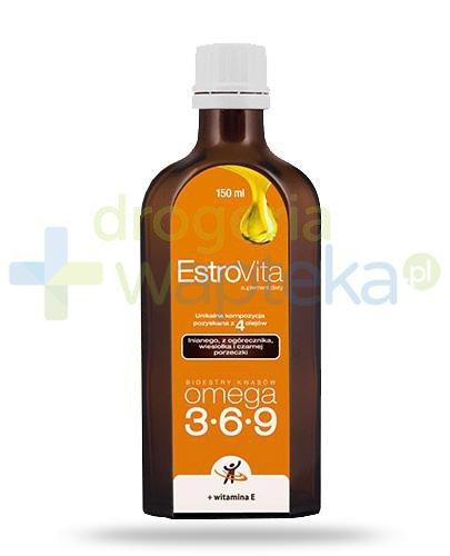 EstroVita Omega 3-6-9, płyn 150 ml