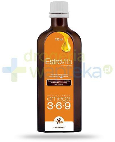 EstroVita Omega 3-6-9, płyn 250 ml