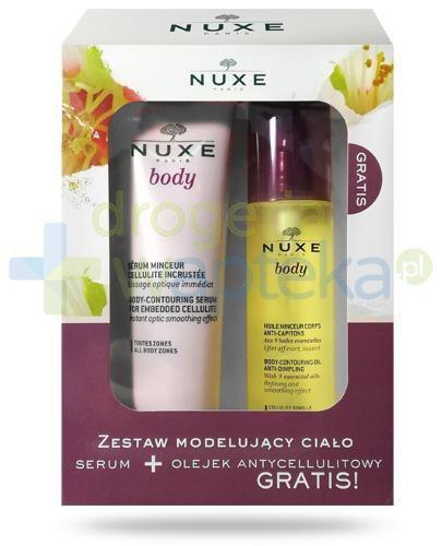 Nuxe Body, zestaw modelujący ciało [ZESTAW] + Nuxe Men wielofunkcyjny żel pod prysznic ...