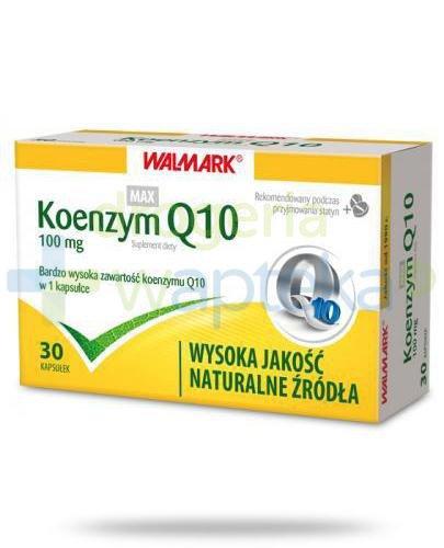 Koenzym Q10 max 100 mg 30 kapsułek Walmark