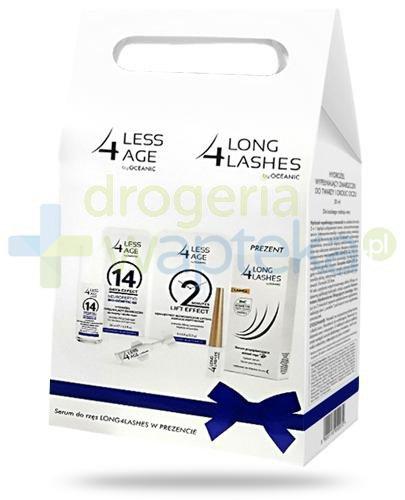 Less4age, hydrożel do twarzy i okolic oczu 30 ml + koncentrat liftingujący, ampułki 5x ...