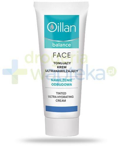 Oillan Balance Face tonujący krem ultranawilżający 40 ml