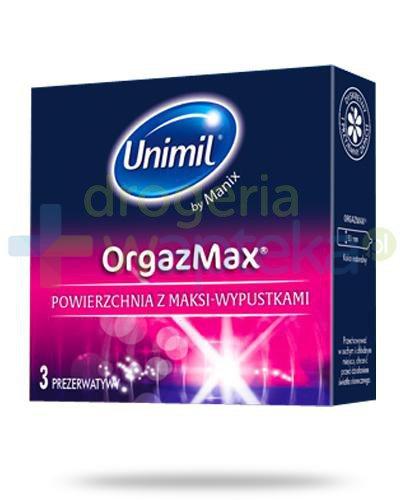 Unimil OrgazMax prezerwatywy 3 sztuki