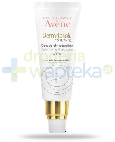 Avene DermAbsolu Kolor przywracający gęstość skóry krem koloryzujący SPF30 40 ml