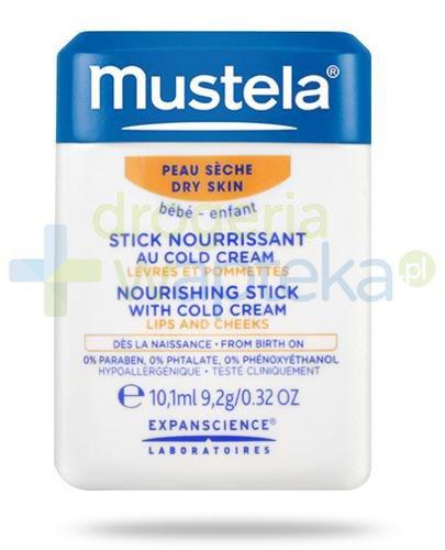 Mustela Bebe Stick sztyft ochronny z Cold Cream 10,1 ml