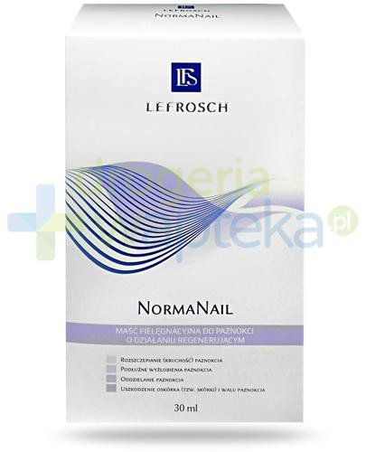 Lefrosch NormaNail regenerująca maść pielęgnacyjna do paznokci 30 ml