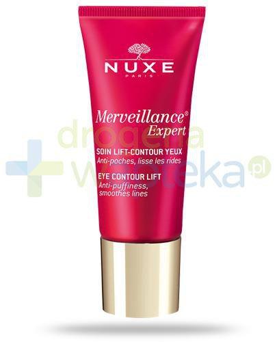 Nuxe Merveillance Expert Yeux liftingujący krem pod oczy 15 ml  + Krem do rąk 50 ml [GRA...