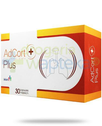 AdCort Plus 30 kapsułek miękkich