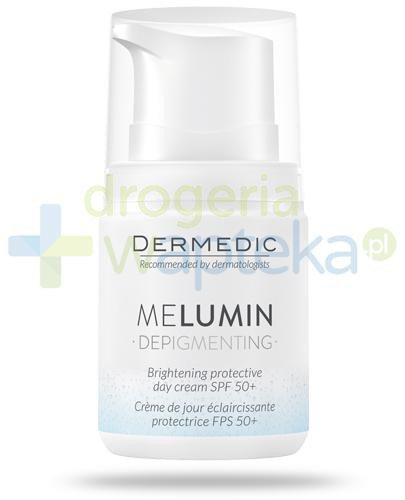 Dermedic MeLumin Depigmenting ochronny krem rozjaśniający na dzień SPF50+ 55 g