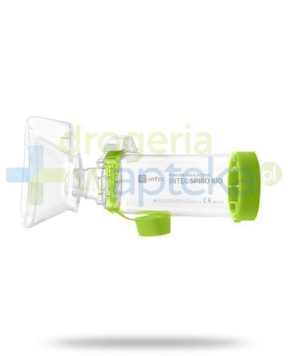 Intec Spiro Kid komora inhalacyjna, kolor zielony 1 sztuka