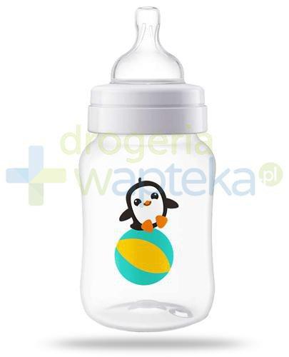 Avent Philips Anti-Colic butelka antykolkowa dla niemowląt 260 ml ze smoczkiem antykolkow...