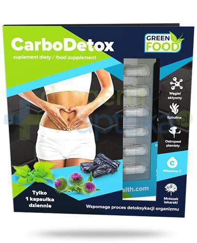 Noble Health Carbodetox 21 kapsułek