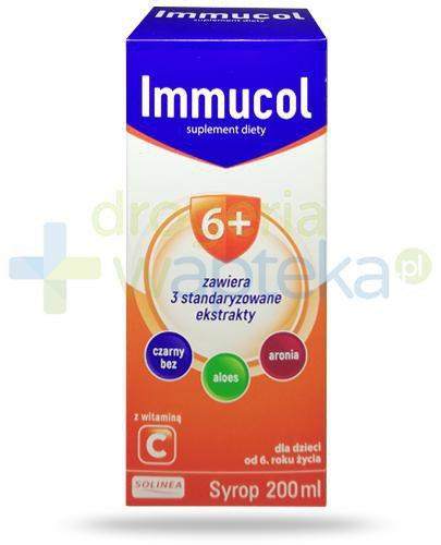 Immucol syrop z witaminą C dla dzieci 6+ 200 ml