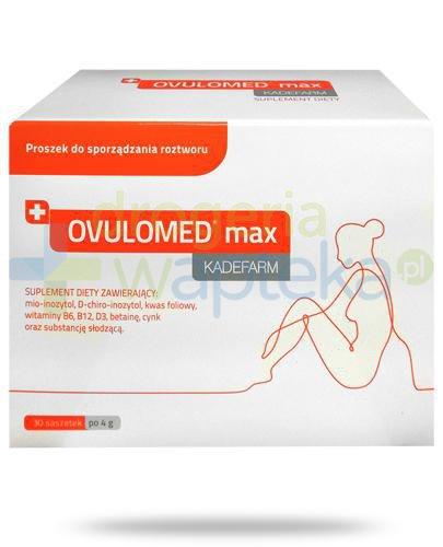 Kadefarm OvuloMed Max, proszek 30x 4 g