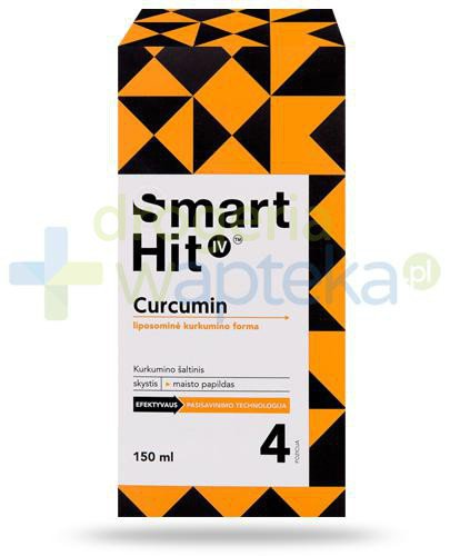 Smart Hit IV Kurkumina liposomalna, płyn 150 ml  whited-out