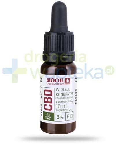 BioOil Full spectrum CBD 5% ekstrakt w oleju konopnym 10 ml