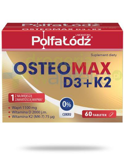 OsteoMax D3 + K2 Polfa Łódź 60 tabletek