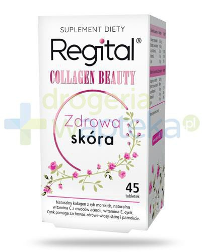 Regital Collagen Beauty Zdrowa Skóra 45 tabletek
