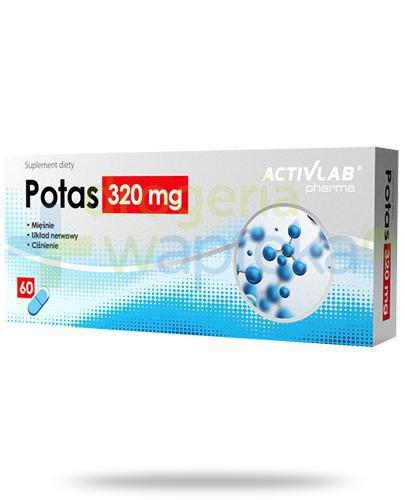 Activlab Pharma Potas 320mg 60 kapsułek