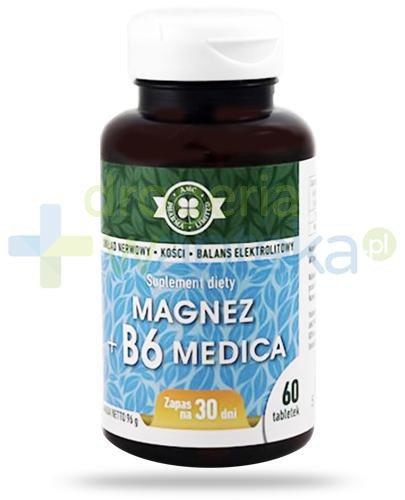 AMC Magnez + B6 Medica 60 tabletek