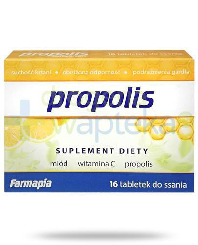 Farmapia Propolis 16 tabletek do ssania