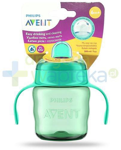 Avent Philips kubek 200 ml z miękkim ustnikiem Spill free dla dzieci 6m+ [SCF551/05]