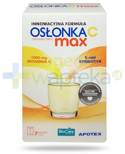 Osłonka C Max synbiotyk 7 saszetek T-win