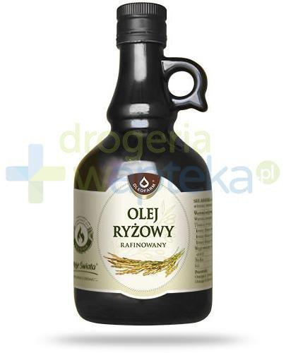 Oleofarm olej ryżowy rafinowany, płyn 500 ml