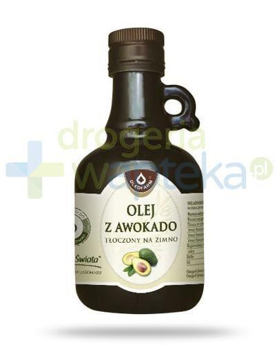 Oleofarm olej z awokado tłoczony na zimno, płyn 250 ml